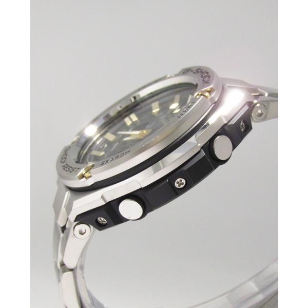 【7年保証】 CASIO G-SHOCK  レイヤーガード構造 Gスチール   国内正規品 ソーラー電波  メンズ 男性用腕時計  GST-W110D-1A9JF|mmco|04