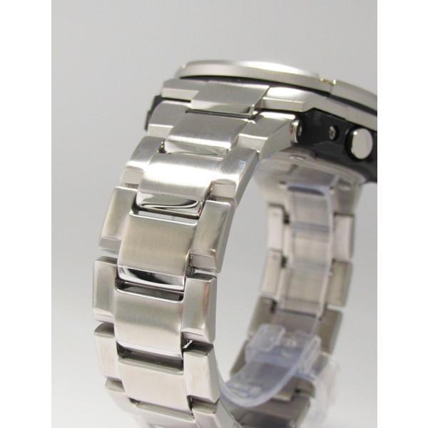 【7年保証】 CASIO G-SHOCK  レイヤーガード構造 Gスチール   国内正規品 ソーラー電波  メンズ 男性用腕時計  GST-W110D-1A9JF|mmco|05