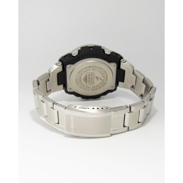 【7年保証】 CASIO G-SHOCK  レイヤーガード構造 Gスチール   国内正規品 ソーラー電波  メンズ 男性用腕時計  GST-W110D-1A9JF|mmco|06