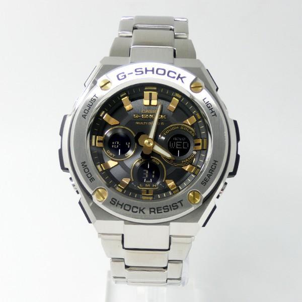 【7年保証】CASIO G-SHOCK  レイヤーガード構造 Gスチール メンズ ソーラー電波腕時計 男性用 品番:GST-W310D-1A9JF|mmco|02