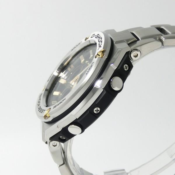 【7年保証】CASIO G-SHOCK  レイヤーガード構造 Gスチール メンズ ソーラー電波腕時計 男性用 品番:GST-W310D-1A9JF|mmco|03