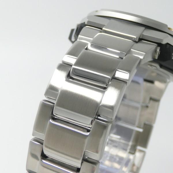 【7年保証】CASIO G-SHOCK  レイヤーガード構造 Gスチール メンズ ソーラー電波腕時計 男性用 品番:GST-W310D-1A9JF|mmco|04