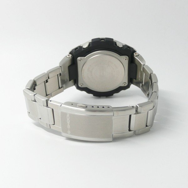 【7年保証】CASIO G-SHOCK  レイヤーガード構造 Gスチール メンズ ソーラー電波腕時計 男性用 品番:GST-W310D-1A9JF|mmco|05
