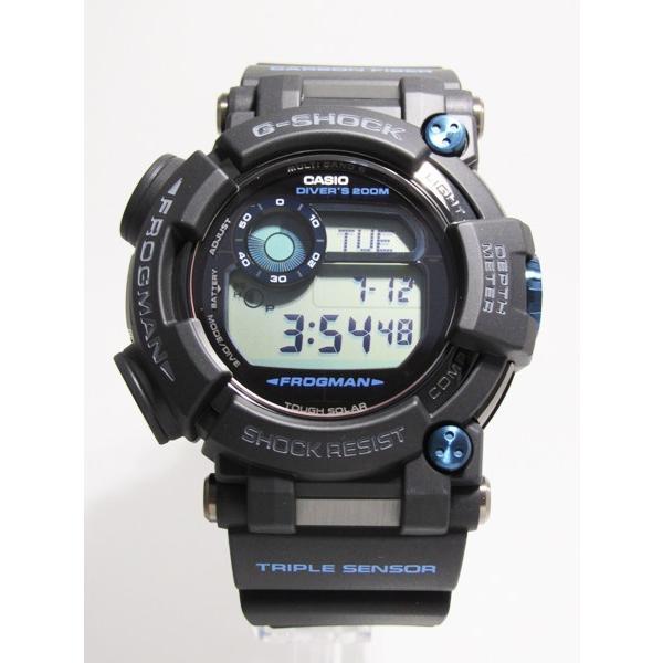 【7年保証】CASIO G-shock  メンズ 男性用ソーラー電波腕時計  Master of G  FROGMAN【GWF-D1000B-1JF】(国内正規品)|mmco|02