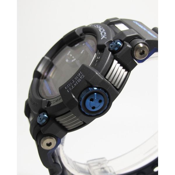 【7年保証】CASIO G-shock  メンズ 男性用ソーラー電波腕時計  Master of G  FROGMAN【GWF-D1000B-1JF】(国内正規品)|mmco|03
