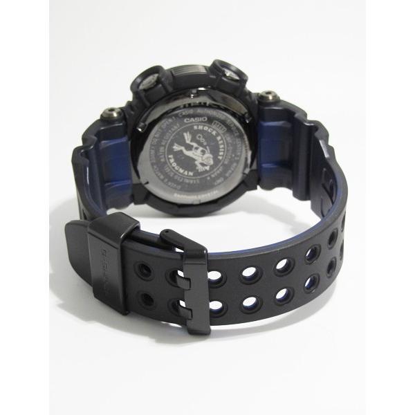 【7年保証】CASIO G-shock  メンズ 男性用ソーラー電波腕時計  Master of G  FROGMAN【GWF-D1000B-1JF】(国内正規品)|mmco|05