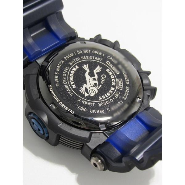 【7年保証】CASIO G-shock  メンズ 男性用ソーラー電波腕時計  Master of G  FROGMAN【GWF-D1000B-1JF】(国内正規品)|mmco|06