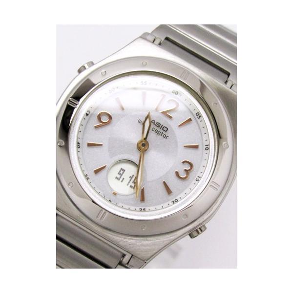 【7年保証】カシオ(CASIO) レディース 女性用  ソーラー電波腕時計 WAVE CEPTOR【LWA-M141D-7AJF】 (国内正規品)|mmco|02