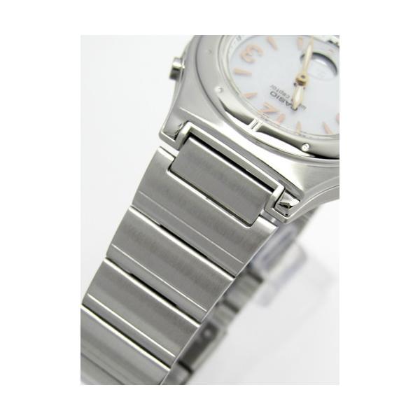 【7年保証】カシオ(CASIO) レディース 女性用  ソーラー電波腕時計 WAVE CEPTOR【LWA-M141D-7AJF】 (国内正規品)|mmco|03