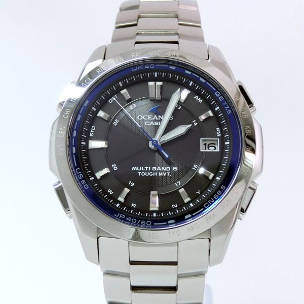 【7年保証】カシオ オシアナス  メンズ 男性用ソーラー電波腕時計 マルチバンド6  クラシックライン 【OCW-T100TD-1AJF】(国内正規品) mmco 02