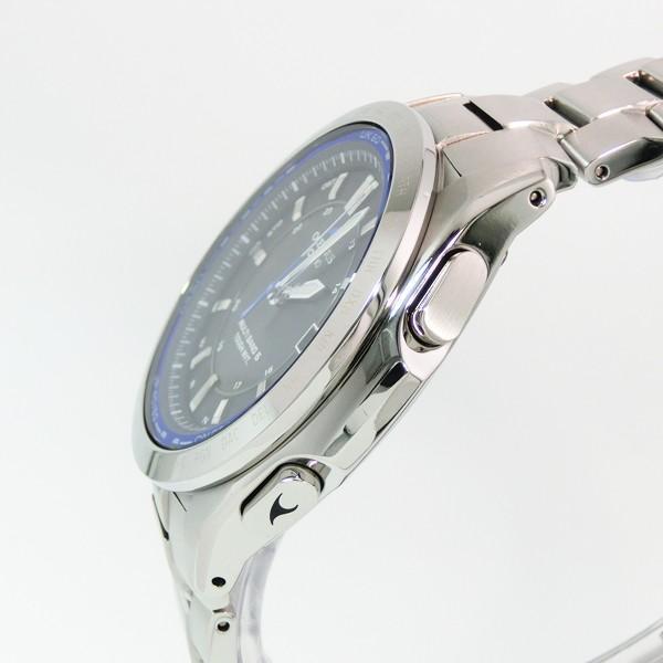 【7年保証】カシオ オシアナス  メンズ 男性用ソーラー電波腕時計 マルチバンド6  クラシックライン 【OCW-T100TD-1AJF】(国内正規品) mmco 03
