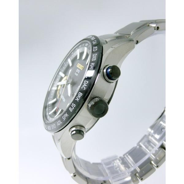 【7年保証】セイコー アストロン GPS電波 ソーラー メンズ 男性用 腕時計 品番:SBXB119 大谷選手レプリカサインボール付(プリント) 拭き布(クロス)付|mmco|03