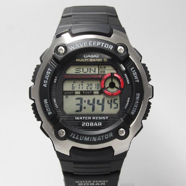 【7年保証】 CASIO SPORTS GEAR メンズ 電波 腕時計 【WV-M200-1AJF】(正規品) スポーツギア|mmco|02