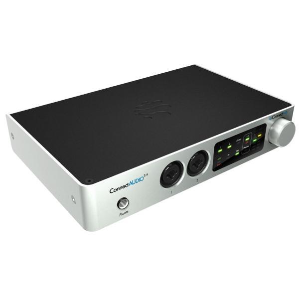 iConnectivity タッチパネルで簡単操作。2イン/4アウト オーディオMIDIインターフェイス ConnectAudio 2/4 ICAUDIO24