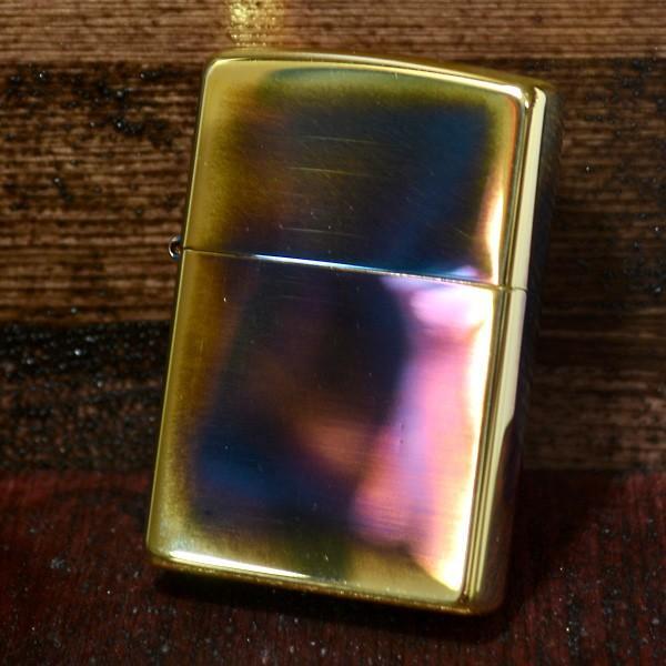 ジッポー ZIPPO ライター 200 ビンテージ風 ゴールドアンティーク 200GA オイル小缶1本付き