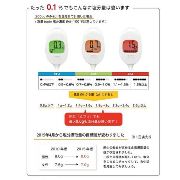 キッチン デジタル 塩分計 EN-902 温度 調理 メール便 送料無料|mo-tec|03