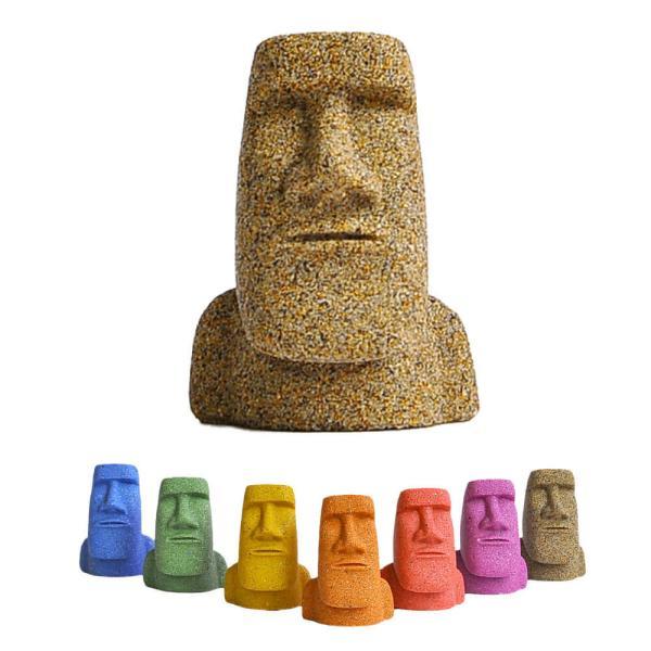 南三陸モアイファミリー【ミニモアイ像】モアイグッズ おもしろ雑貨 プレゼント 開運グッズ 金運 恋愛 置物|moai-store