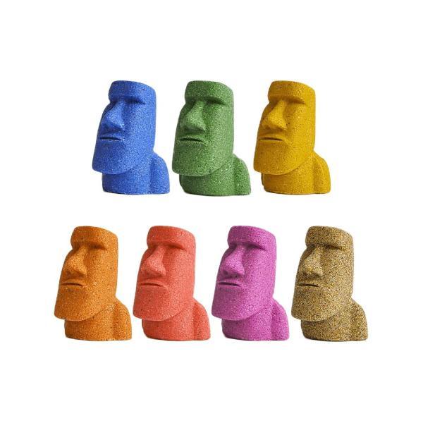 南三陸モアイファミリー 【ミニモアイ像 7体セット】開運グッズ モアイグッズ おもしろ雑貨 誕生日プレゼント|moai-store
