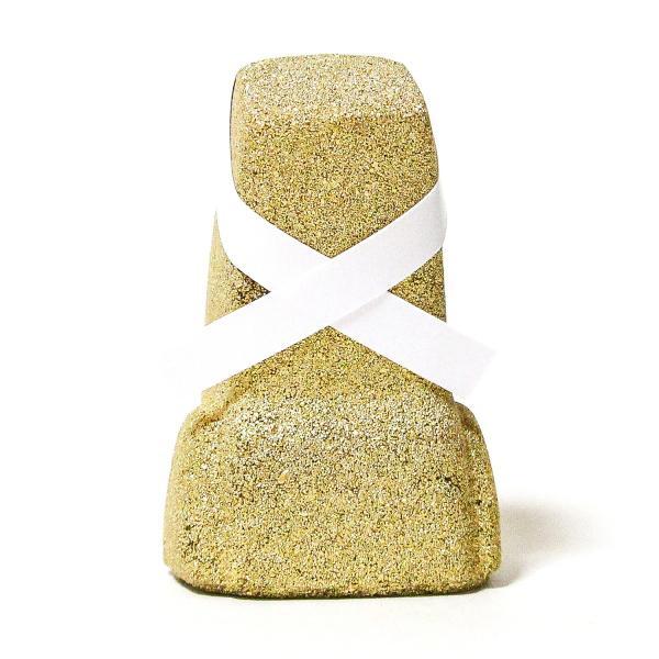 南三陸モアイファミリー 《 大願 モアイ像 》 ゴールド 大願成就 おもしろ雑貨 プレゼント 縁起物 置物|moai-store|04