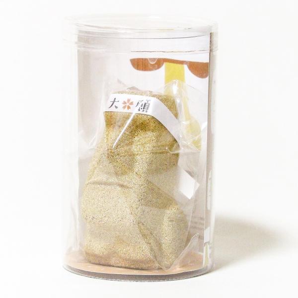 南三陸モアイファミリー 《 大願 モアイ像 》 ゴールド 大願成就 おもしろ雑貨 プレゼント 縁起物 置物|moai-store|06