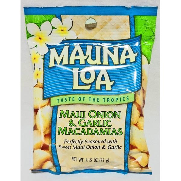 マウナロア・マカダミアナッツ/マウイオニオン&ガーリック/Sサイズ(32g)|moanapua