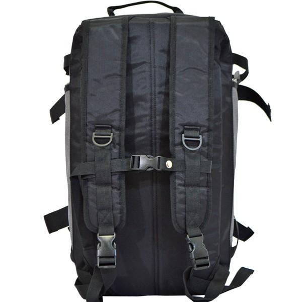 2WAY ボストンリュック メンズ リュック ボストンバッグ 男性 スポーツバッグ 旅行バッグ おしゃれ ビジネス グレー