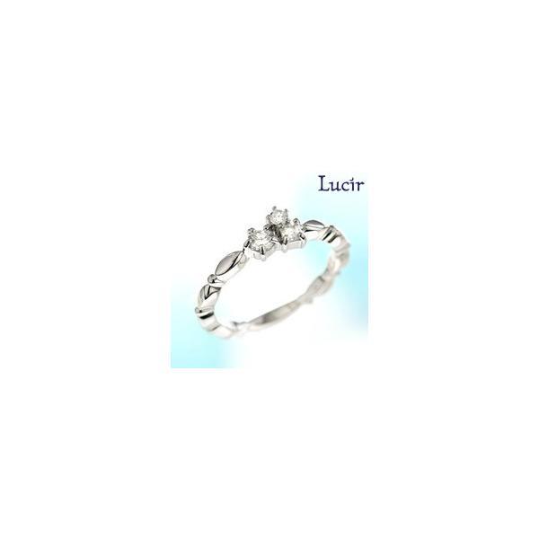 Lucir 送料無料 夜空に輝く星たちを身にまとう luminousシリーズリング ロジューム 母の日 プレゼント ギフト