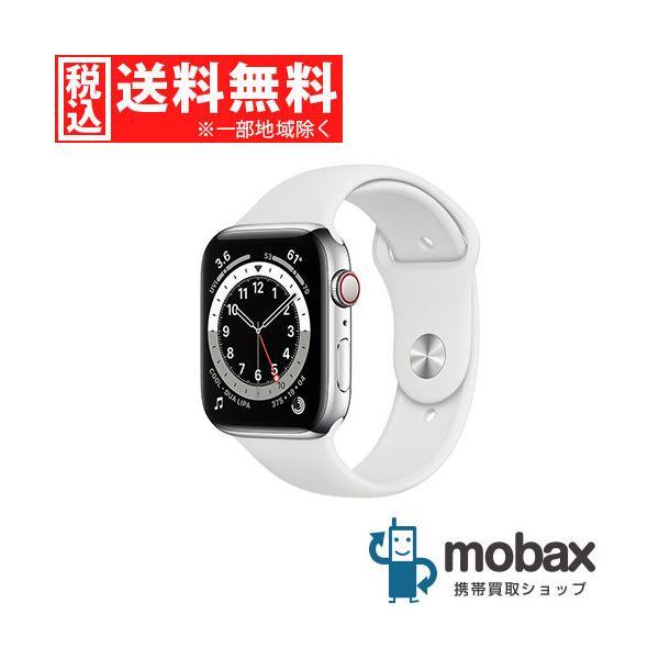 キャンペーン 新品未開封品(未使用) AppleWatchSeries6GPSCellular44mmM09D3J/A シルバ