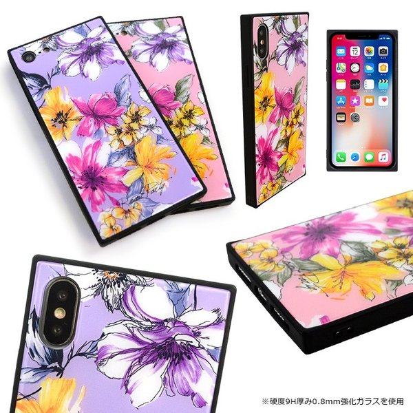 iPhoneX iPhoneXS iPhone8 iPhone7 iPhoneXS Max iPhonexsmax ROYAL PARTY 「背面ガラスケース スマホケース  8 7 x xs xsmax iphone|mobile-f|05