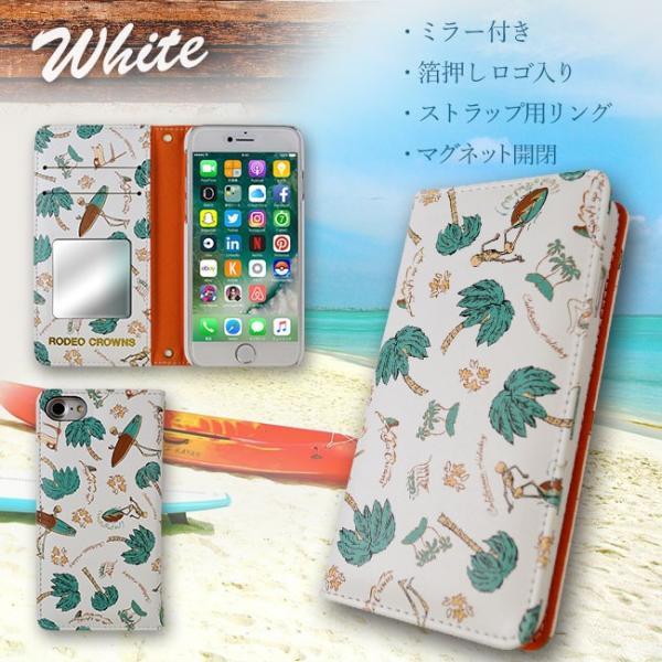 iPhone8 RODEO CROWNS/ロデオクラウンズ 「サーフアップ」 手帳型 スマホケース iPhone7/6s/6|mobile-f|03