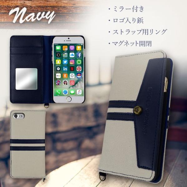 iPhone8 RODEOCROWNS/ロデオクラウンズ 「LINE DENIM」 手帳型 スマホケース iPhone7/6s/6|mobile-f|03