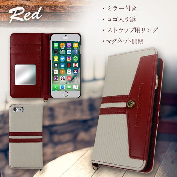 iPhone8 RODEOCROWNS/ロデオクラウンズ 「LINE DENIM」 手帳型 スマホケース iPhone7/6s/6|mobile-f|04