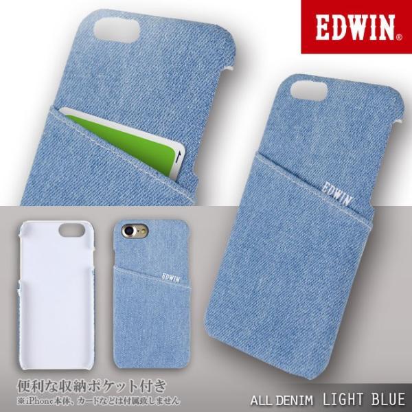 iPhone8 EDWIN/エドウィン 「アジャストデニムケース」 ブランド シンプル iPhone7|mobile-f|02