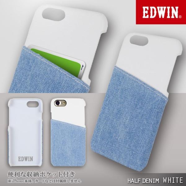 iPhone8 EDWIN/エドウィン 「アジャストデニムケース」 ブランド シンプル iPhone7|mobile-f|05