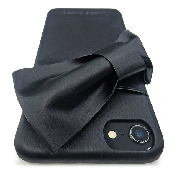 iPhone8/7/6s/6 兼用 LAISSE PASSE(レッセ・パッセ) 背面ケース 「ドレープリボン」 アイフォン|mobile-f|11