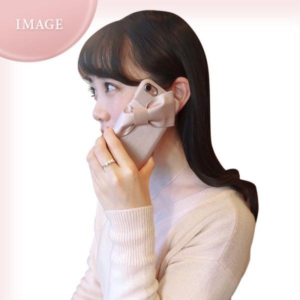 iPhone8/7/6s/6 兼用 LAISSE PASSE(レッセ・パッセ) 背面ケース 「ドレープリボン」 アイフォン|mobile-f|09