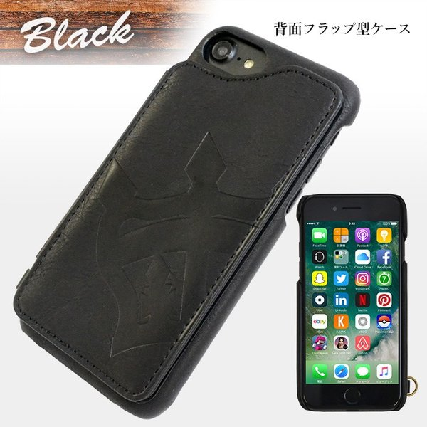 iPhone8 iPhone7 iPhone6s iPhone6 兼用 背面ケース RODEO CROWNS 「ビッグクラウン」 アイフォン|mobile-f|03