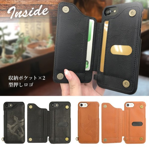 iPhone8 iPhone7 iPhone6s iPhone6 兼用 背面ケース RODEO CROWNS 「ビッグクラウン」 アイフォン|mobile-f|05