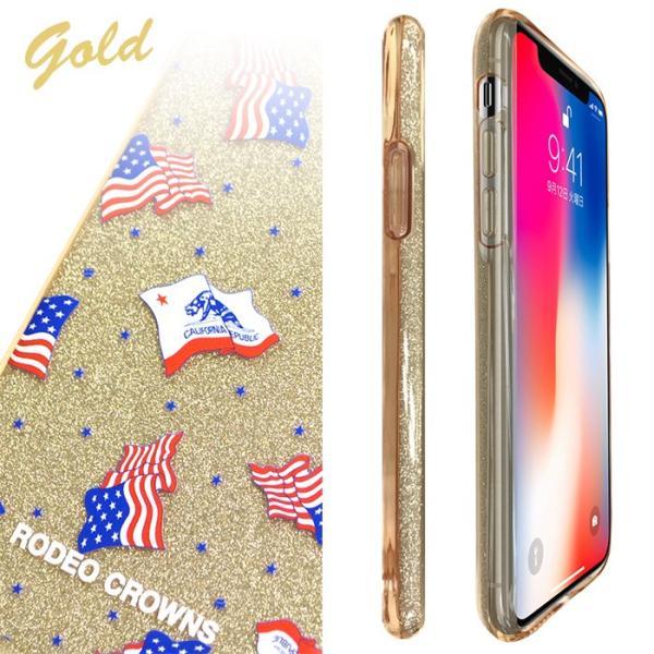 iPhoneX 専用 RODEOCROWNS/ロデオクラウンズ 「ラメシリコンケース」 グリッター ソフトケース|mobile-f|05