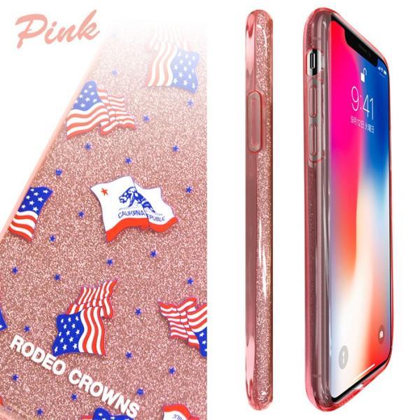 iPhoneX 専用 RODEOCROWNS/ロデオクラウンズ 「ラメシリコンケース」 グリッター ソフトケース|mobile-f|06