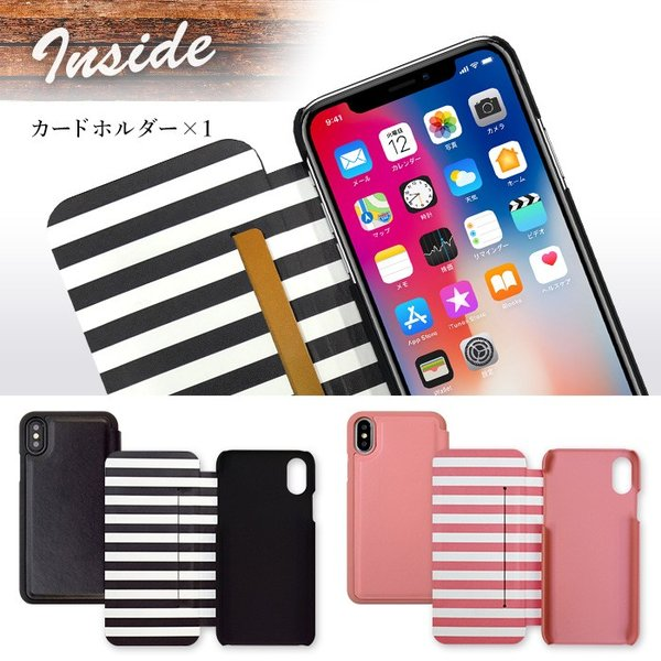iPhoneX 専用 RODEOCROWNS/ロデオクラウンズ 「INSIDE」 薄型手帳ケース|mobile-f|04