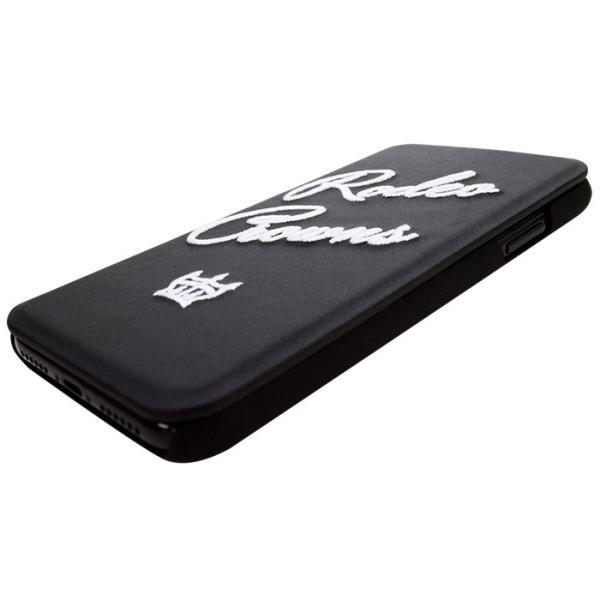 iPhoneX 専用 RODEOCROWNS/ロデオクラウンズ 「INSIDE」 薄型手帳ケース|mobile-f|06