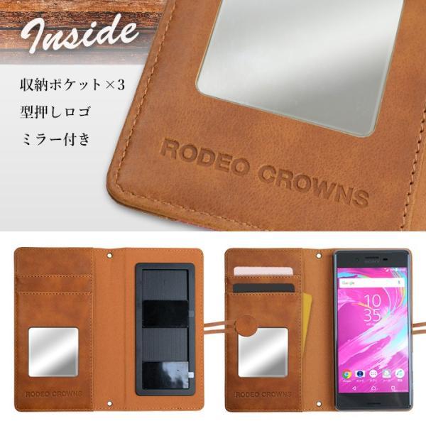全機種対応 RODEO CROWNS/ロデオクラウンズ 「ペイズリーデニム」 マルチ手帳ケース スマホ|mobile-f|06