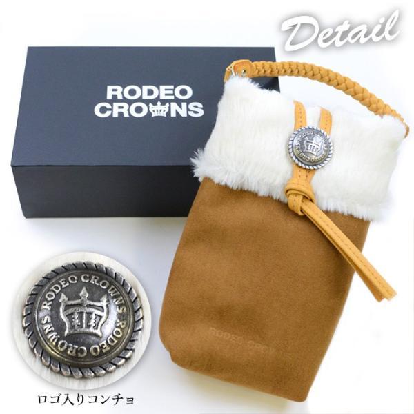 RODEO CROWNS/ロデオクラウンズ 「ムートンポーチ」 スマホ ミニバッグ 収納 iPhone 全機種|mobile-f|06