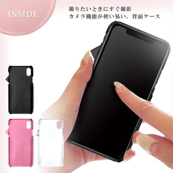 iPhoneXR LAISSE PASSE 「ドレープリボン」 背面ケース レッセパッセ iphone アイフォン ケース xr アイフォンxr|mobile-f|06