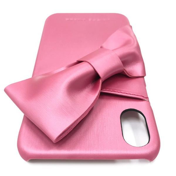 iPhoneXR LAISSE PASSE 「ドレープリボン」 背面ケース レッセパッセ iphone アイフォン ケース xr アイフォンxr|mobile-f|10