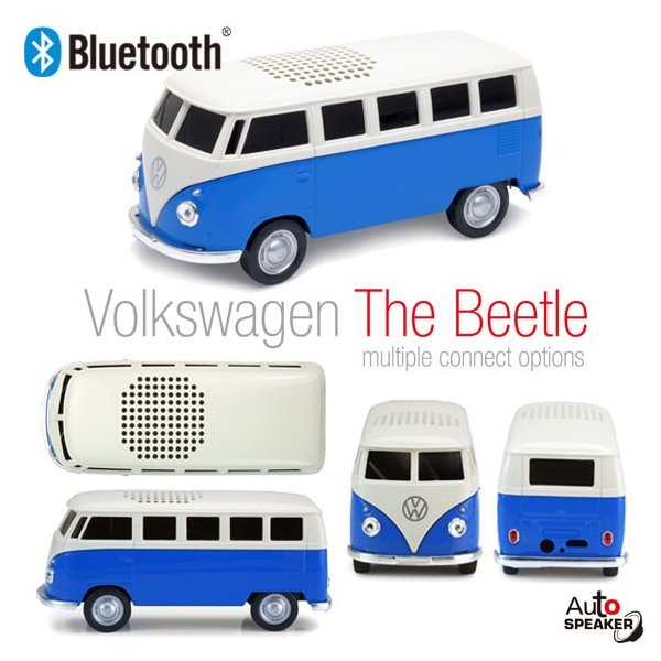 スピーカー Bluetooth VOLKSWAGEN 【659544】VWBusブルーBT バス フォルクスワーゲン T1 ブルー 株式会社フェイス【宅配便配送】【送料別】