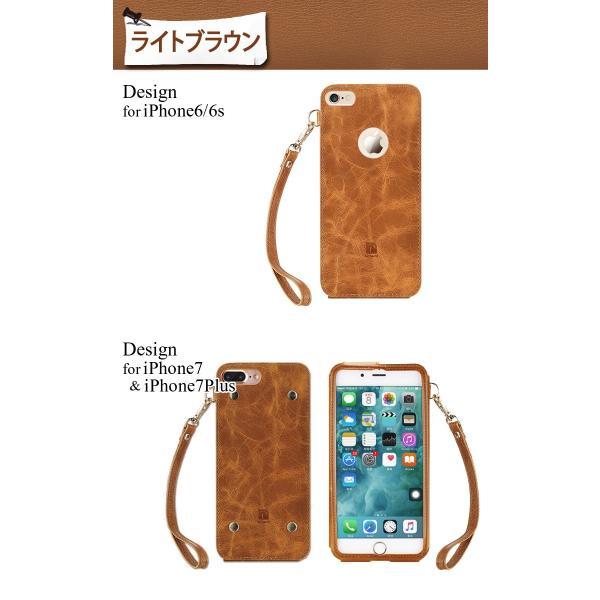 iPhone8 ケース 8Plus 7 7Plus 6s 6 スマートフォン スマホカバー シンプル レザー ゴージャス ストラップ付 本革 左利き お洒落 極 薄 かっこいい|mobilebatteryampere|11