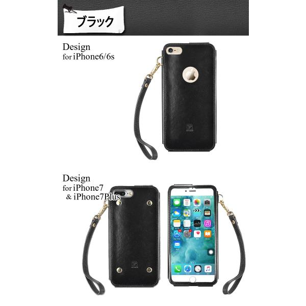iPhone8 ケース 8Plus 7 7Plus 6s 6 スマートフォン スマホカバー シンプル レザー ゴージャス ストラップ付 本革 左利き お洒落 極 薄 かっこいい|mobilebatteryampere|08