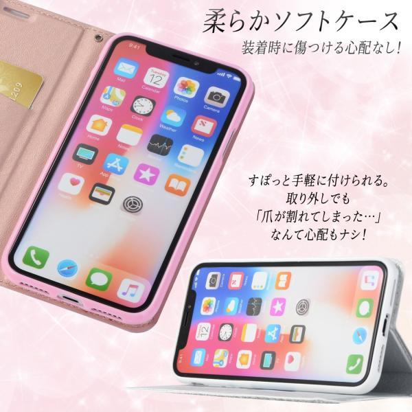 iPhone11 ケース 手帳型 iPhone11 Pro ケース 携帯 スマホ ケース ストラップ 耐衝撃 おしゃれ iPhone7 XR XS MAX X 6S iPhone8ケース 女性人気|mobilebatteryampere|03